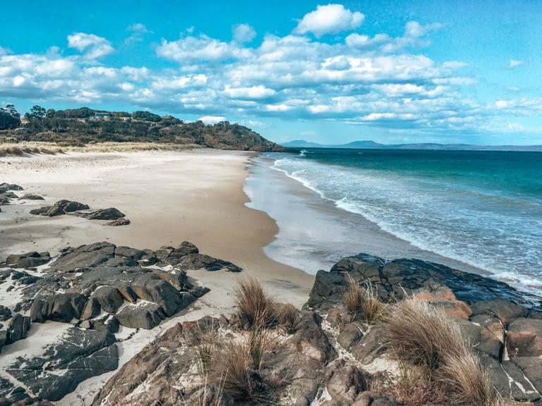 Clean Beaches in Tasmania