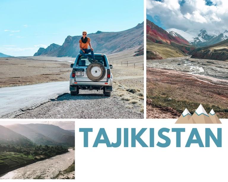 Road trip through Tajikistan