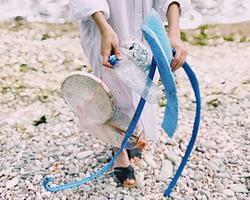 Two Innovative Ways to Repurpose Single-Use Plastic